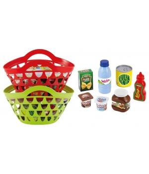 Игрушечные продукты для детской кухни, в корзине, 7 аксессуаров, Ecoiffier