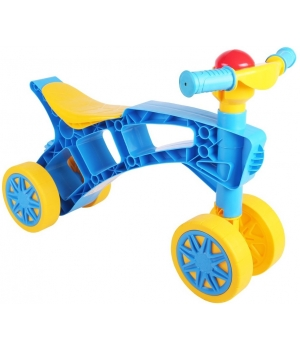 Беговел Ролоцикл байк, синий, Технок