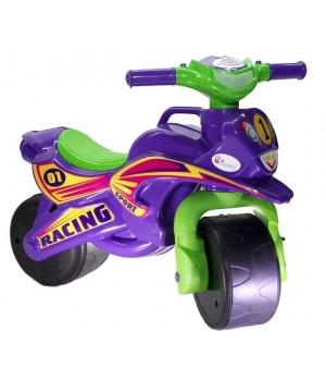 Беговел Каталка Мотоцикл, (фиолетовый), Doloni Toys