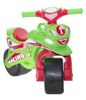 "Беговел в виде мотоцикла ""Байк Спорт"" (зелёный), Doloni Toys"