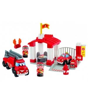 Конструктор пожарная станция с фигурками, Ecoiffier