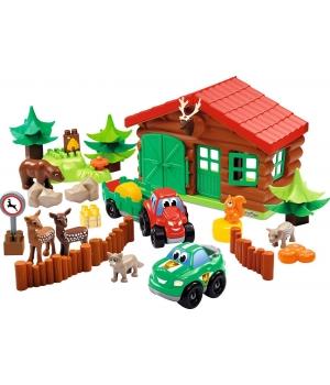 """Конструктор ферма с животными """"Лесничество"""", Ecoiffier"""