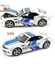 Полицейская машинка Шевролет Камаро (Chevrolet Camaro SS RS Police), 1:24, Maisto, от 5 лет