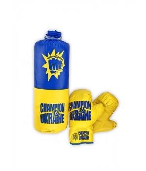 Боксерская груша с перчатками для детей от 3 лет, Украина, S-UA