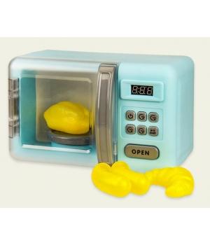 Микроволновая печь игрушка (звук, свет, продукты меняют цвет при нагреве)