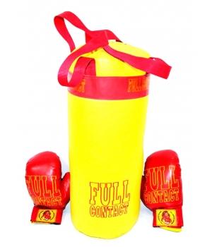 Детский боксерский мешок с перчатками, 3 кг, 50 см, L-FULL