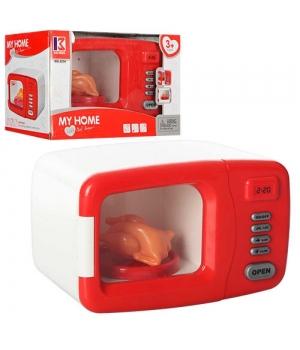 Детская игрушка микроволновая печь, на батарейках