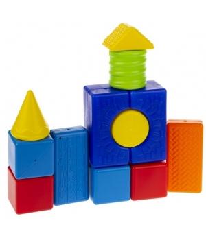 Конструктор для самых маленьких детей, геометрические фигуры, 24 детали