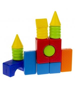 Конструктор для самых маленьких детей, геометрические фигуры, 36 деталей