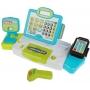 Игрушка касса для детей (свет-звук,сканер,калькулятор, микрофон, продукты)