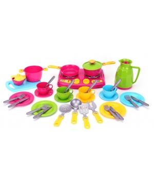 Посудка детская игрушечная, 38 элементов , Технок