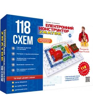 Электронный конструктор для детей 5 лет Знаток - ZNATOK (118 схем)