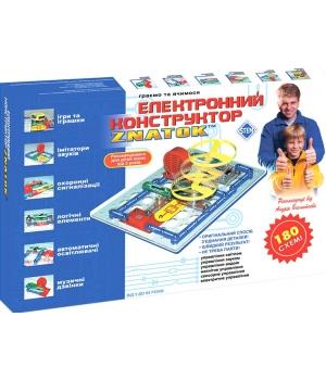 Конструктор электронный Знаток 180 схем - ZNATOK