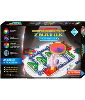 Электронный конструктор Знаток свет и цвет 24 схемы - ZNATOK