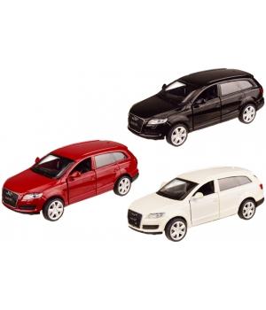 Ауди Q7 1:43, Audi Машина металлическая, коллекционная, (3 цвета), Автопром