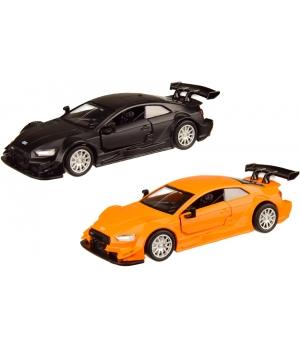 Ауди РС 5 Рейсинг 1:43, машинка металлическая Audi RS 5 Racing, 2 цвета, Автопром