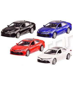 Машинка Тойота Камри коллекционная модель TOYOTA CAMRY металлическая, 1:43, (4 цвета), Автопром