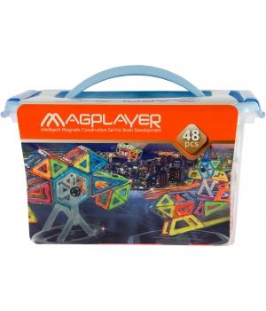 Конструктор магнитный Колесо Обозрения, 48 элементов, MagPlayer