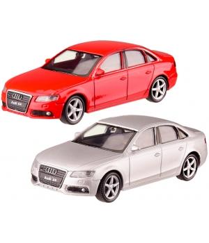 Модель Ауди А4 (Audi A4) 1:43, металлическая машинка, 2 цвета, WELLY