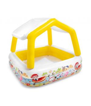 Надувной бассейн для детей с крышей, от 2 лет