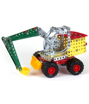 Конструктор металлический Экскаватор, ТехноК, 4784