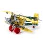 Конструктор металлический Самолет-биплан, 4791, Технок