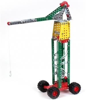 Металлический конструктор Башенный Кран, (253 детали), Технок 4890