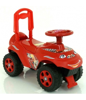 Детская машинка толокар каталка, красная, для мальчика, Doloni Toys