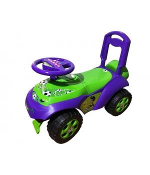 """Детская машинка каталка толокар """"Автошка"""" фиолетовая, Doloni Toys"""