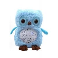 Ночник светильник Сова мягкая игрушка с проектором звездного неба, Funmuch