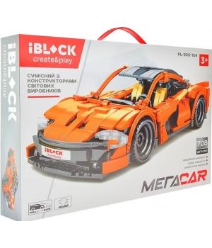 Конструктор спортивная машина Nascar, 708 деталей, IBLOCK PL-920-154