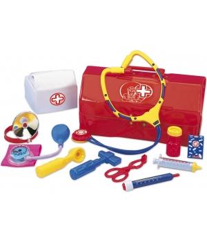 Набор врача для детей в чемоданчике, 12 предметов, Simba