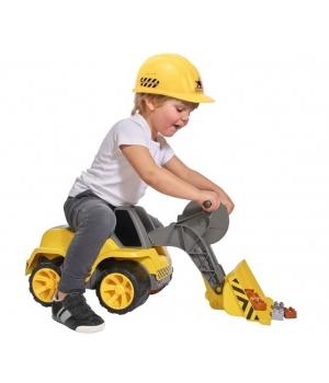Детский экскаватор погрузчик для песочницы с сиденьем, BIG