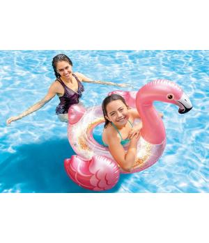 Надувной круг Фламинго для детей, 99см, от 9 лет