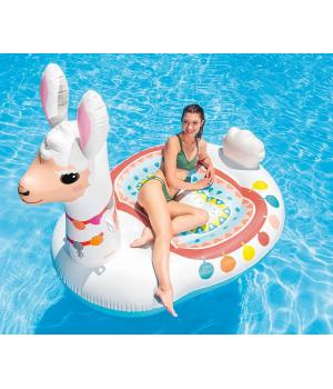 """Детский надувной Плот для плавания, """"Лама"""", 173см, Intex"""