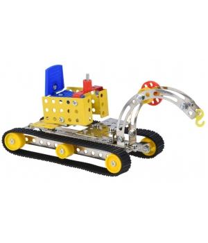 Конструктор металлический Бульдозер, Same Toy