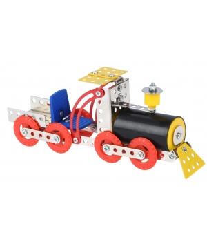Металлический конструктор с гайками Поезд, Same Toy