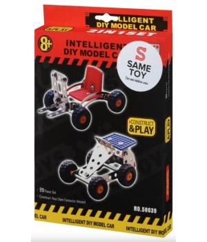 Конструктор металлический машинка (2 модели), Same Toy
