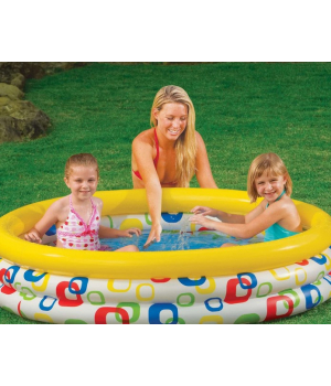 Надувной бассейн для детей от 2 лет, 147см, Intex