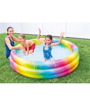 Надувной бассейн для детей от 2 лет, 168см, Intex