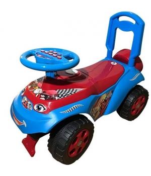 Детская машинка толокар каталка, красно-голубой, Doloni Toys