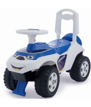 Детская машинка толокар каталка Полиция со звук эффектом, Doloni Toys