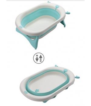 Складная ванночка для купания новорожденных 81см, (Бирюзовый) Same Toy