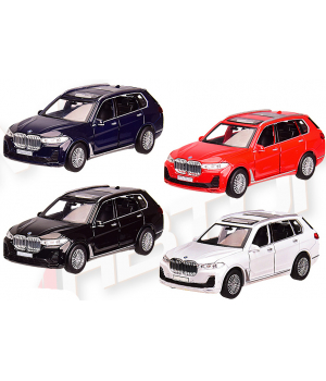 Машинка BMW X7 металлическая, коллекционная модель, БМВ Х7 1:32, Автопром