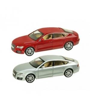 Коллекционная модель Ауди А7 (Audi A7) машинка металлическая, 1:24, 2 цвета, АВТОПРОМ