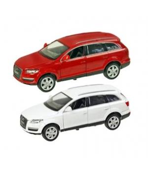 Коллекционная модель Ауди кью 7 (Audi Q7) машинка металлическая, 1:24, 2 цвета, АВТОПРОМ
