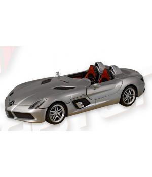 Машинка Mercedes-Benz SLR McLaren Stirling Moss металлическая, коллекционная модель Мерседес Бенз, 1:24, Автопром