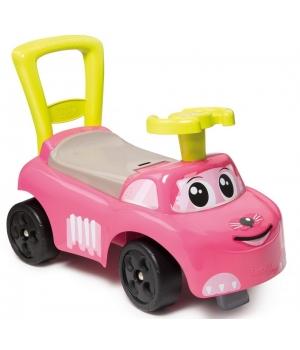 Машинка для катания ребенка ногами, для девочки, от 1 года, Котик, Smoby
