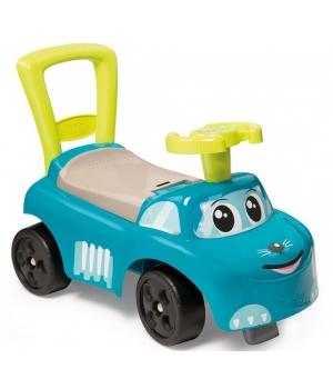 Машинка для катания ногами, бирюзовый котик, от 1 года, Smoby