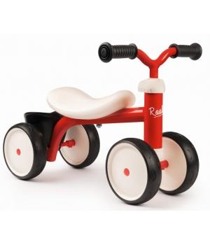 Беговел для детей от 1 года, (4 колеса), красный, Smoby